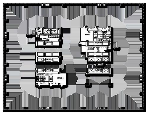 Renaissance Tower - Typical Floor Plan